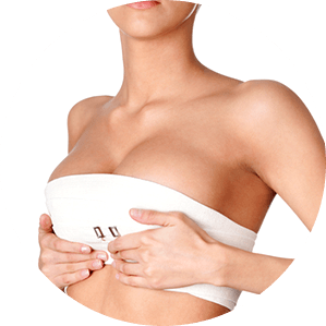 Breast after enlargement surgery in Miami